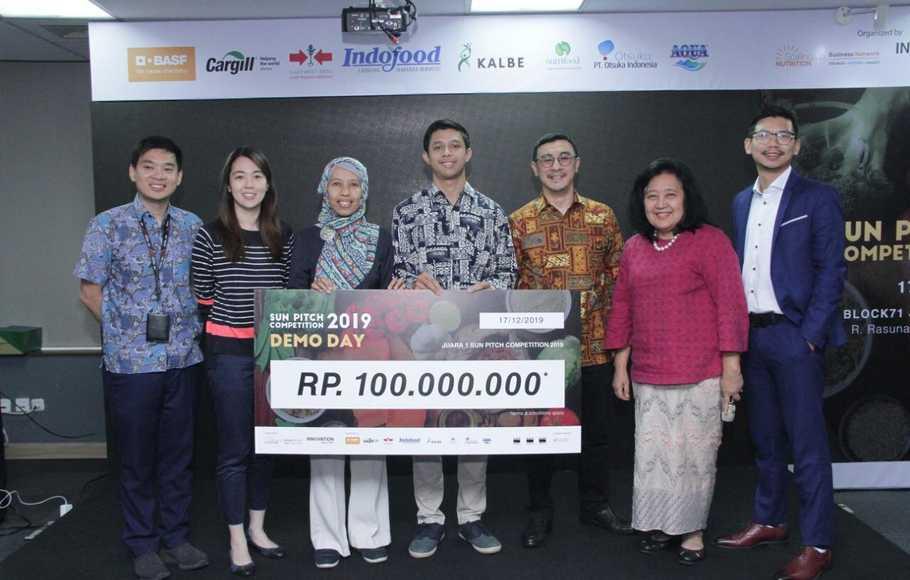 Sun Pitch Competition 2019 Hadirkan Inovasi Atasi Anemia dan Malnutrisi